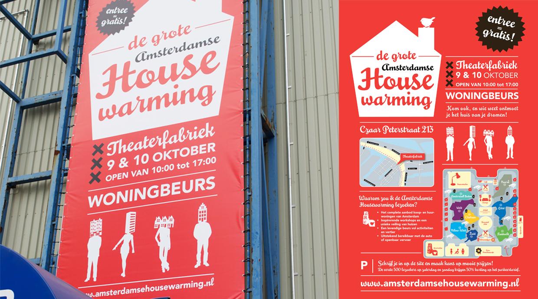 De grote Amsterdamse Housewarming