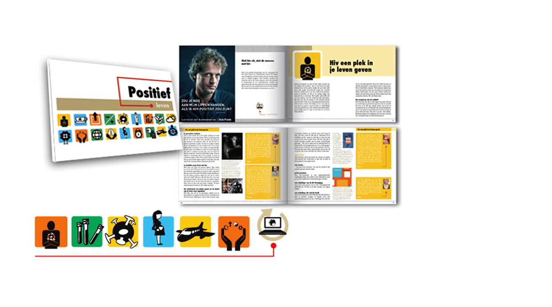 Positief Leven – HIV brochure