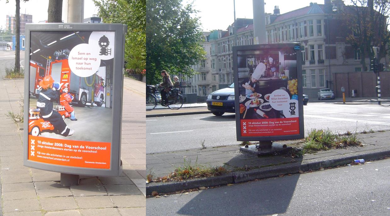 Gemeente Amsterdam | Voorschool campagne
