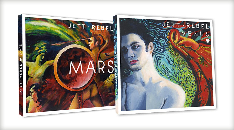 Jett Rebel | Artwork Album Venus & Mars